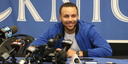 Charlotte Christian Retires Stephen Curry's High School Jersey