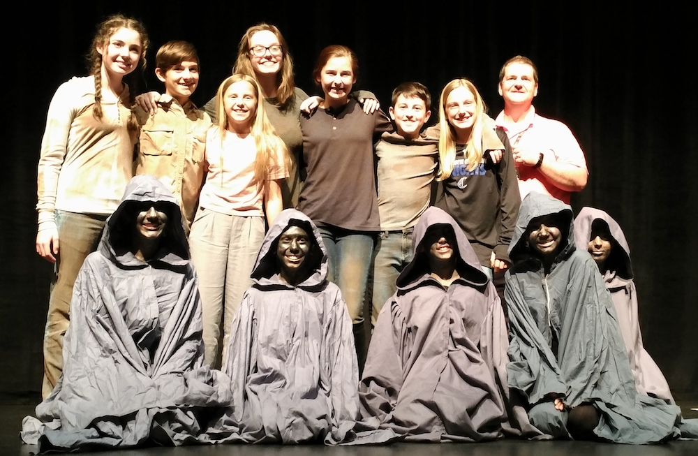 Middle School Drama Students Awarded at 2019 NCTC Festival